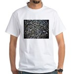 Shad in Fall Colors White T-Shirt