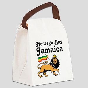 Montego Bay, Jamaica Canvas Lunch Bag