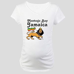 Montego Bay, Jamaica Maternity T-Shirt