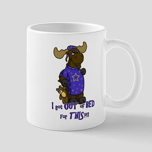 sleepy moose Mug