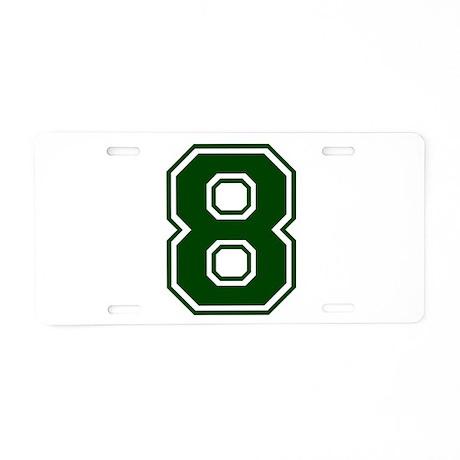 greena8 Aluminum License Plate