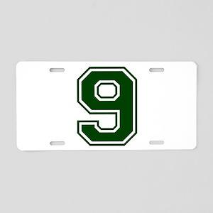 greena9 Aluminum License Plate