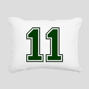 green11 Rectangular Canvas Pillow