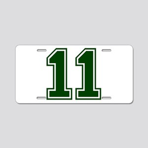 green11 Aluminum License Plate