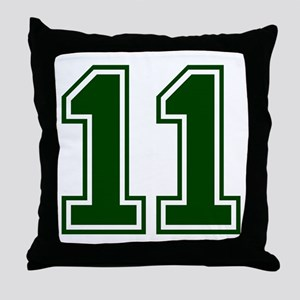 green11 Throw Pillow