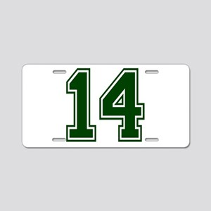 green14 Aluminum License Plate