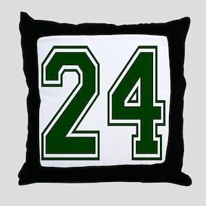 green24 Throw Pillow