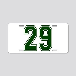 green29 Aluminum License Plate