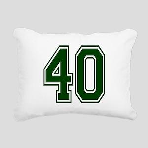 green40 Rectangular Canvas Pillow