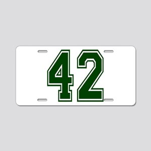 green42 Aluminum License Plate