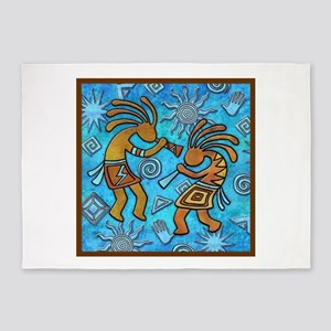Best Seller Kokopelli 5'x7'Area Rug