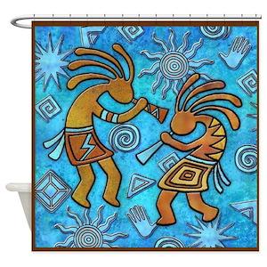Hopi Shower Curtains
