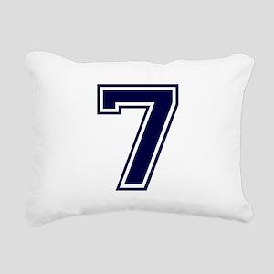 bluea7 Rectangular Canvas Pillow