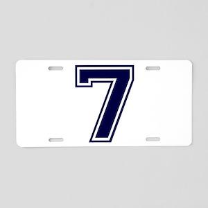 bluea7 Aluminum License Plate