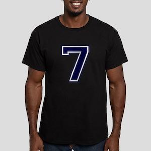 bluea7 Men's Fitted T-Shirt (dark)