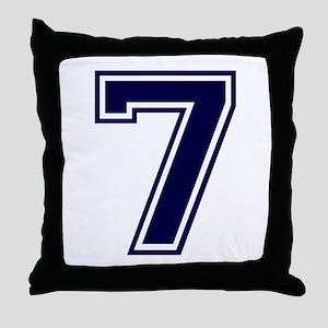 bluea7 Throw Pillow