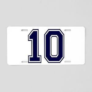 blue10 Aluminum License Plate