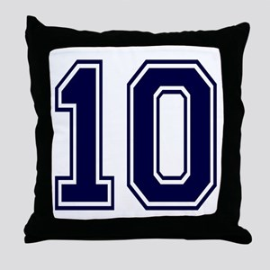 blue10 Throw Pillow
