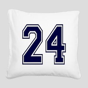 blue24 Square Canvas Pillow