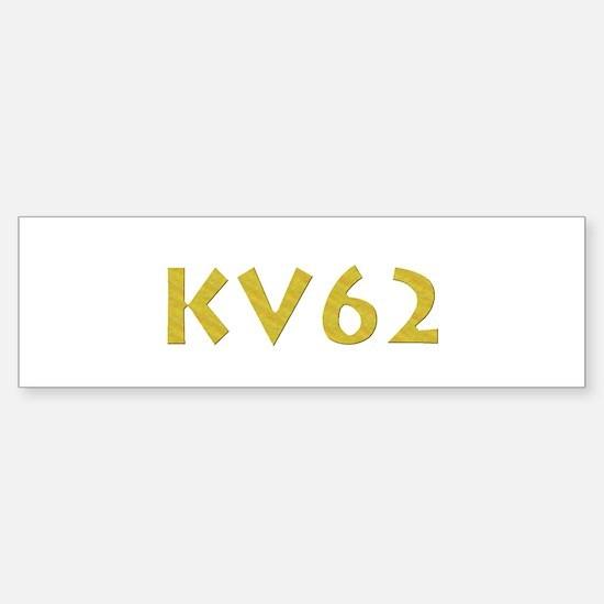 KV62 Bumper Bumper Bumper Sticker