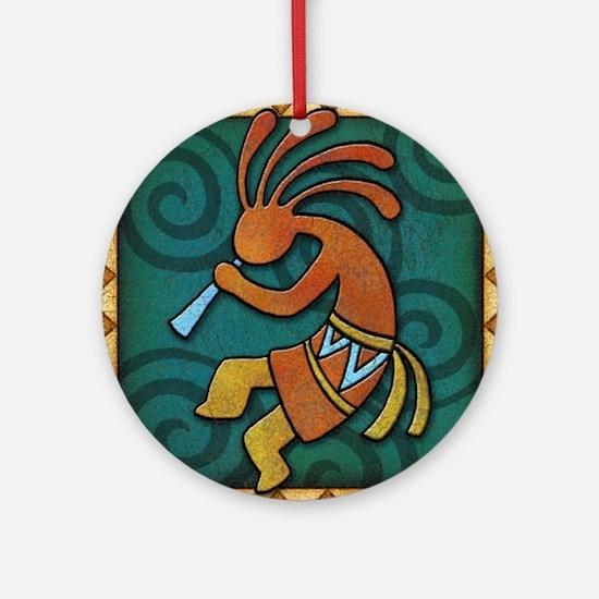 Best Seller Kokopelli Ornament (Round)