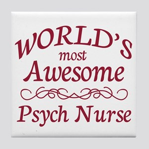 Psych Nurse Tile Coaster