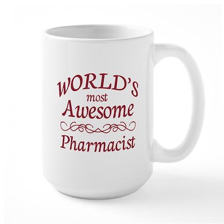 Awesome Pharmacist Large Mug