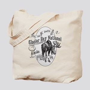 Glacier Bay Vintage Moose Tote Bag