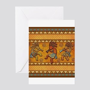 Best Seller Kokopelli Greeting Card