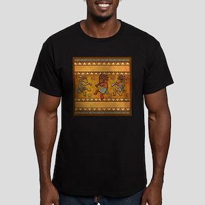 Best Seller Kokopelli Men's Fitted T-Shirt (dark)