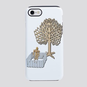 Enclosed Yard and Tree iPhone 7 Tough Case