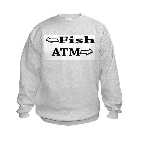 Fish & ATM's Kids Sweatshirt