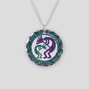 Best Seller Kokopelli Necklace Circle Charm