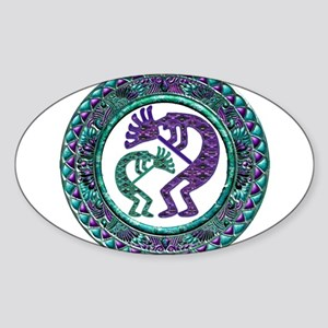 Best Seller Kokopelli Sticker (Oval)