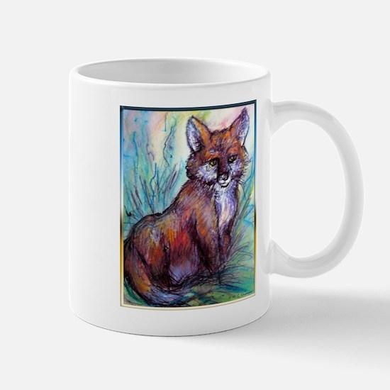 Fox, wildlife art! Mug