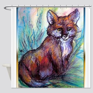 Fox, wildlife art! Shower Curtain