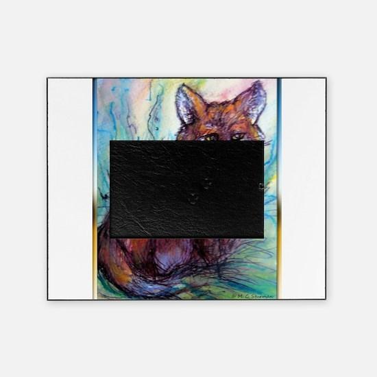 Fox, wildlife art! Picture Frame