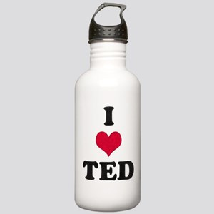I Love Ted Stainless Water Bottle 1.0L