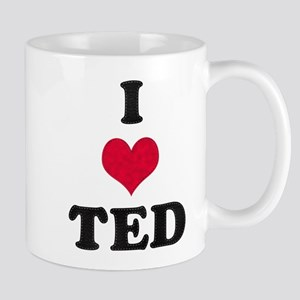 I Love Ted Mug