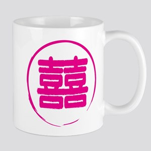 Double Happiness Chinese Symbol Mug