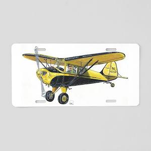 TaylorCraft Airplane Aluminum License Plate