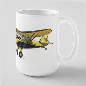 TaylorCraft Airplane Large Mug