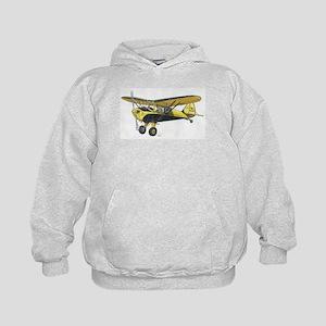 TaylorCraft Airplane Kids Hoodie