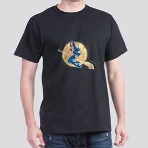 Pin-Up Witch Men's Dark T-Shirt