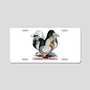 Show Racers Eight Aluminum License Plate