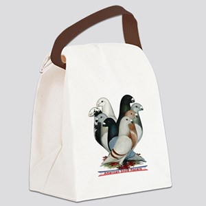Show Racers Eight Canvas Lunch Bag