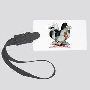 Show Racers Eight Large Luggage Tag