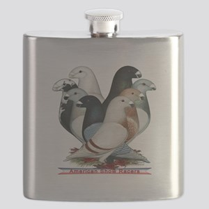 Show Racers Eight Flask
