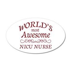 Awesome NICU Nurse Wall Decal