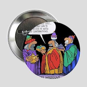 """Three Wiseguys 2.25"""" Button"""